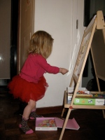 Montessori musings... the Tinkerous Toddler's adventures at nursery part 1