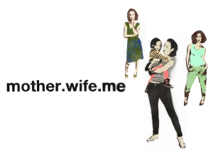 mother.wife.me brand logo illustration
